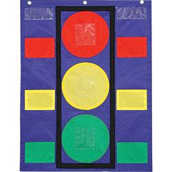 """Carson Dellosa Stoplight Pocket Chart, 14 1/2"""" w x 11 1/2"""" h"""