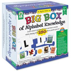 Carson Dellosa Big Box Of Alphabet Knowledge, 250Pcs