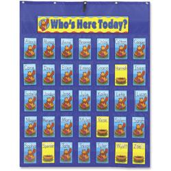 Carson Dellosa Attendance/Multiuse Pocket Chart