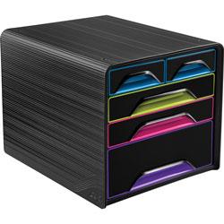 CEP Desktop Drawer, 5 Drawer, 11-3/10 inWx14-1/5 inLx10-3/5 inH, MI