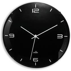 CEP Clock, Silent Quartz, 11-1/2 inWx2-1/5 inLx11-1/2 inH, Black
