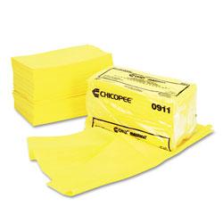 Chicopee Masslinn Dust Cloths, 24 x 24, Yellow, 50/Bag, 2 Bags/Carton