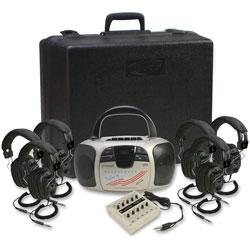 Califone 6-Person Listening Center, Beige,