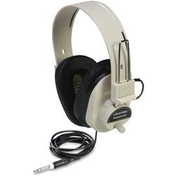 Califone Deluxe Stereo Headphones, Beige