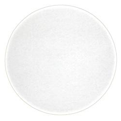 Honeymoon Paper Snobrite White Corrugated Cake Circle, 10 in