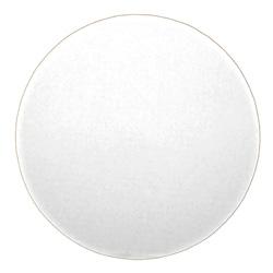 Honeymoon Paper Snobrite White Corrugated Cake Circle, 12 in