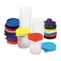 Chenille Kraft No-Spill Paint Cups, 10/Set