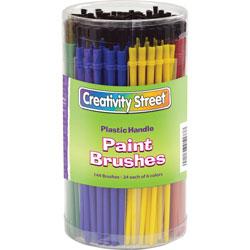 Chenille Kraft Classroom Brush Canister, Assorted