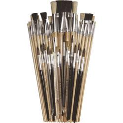 Chenille Kraft Super Value Brush Assortment, 40/CT, Assorted