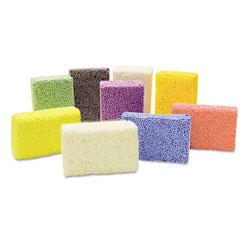 Chenille Kraft Squishy Foam Classpack, Assorted Colors, 36 Blocks