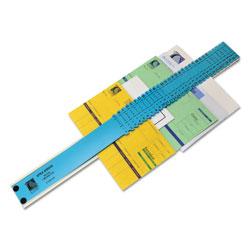 C-Line Sorter, A-Z/1-31/Jan-Dec/Sun-Sat/0-30,000 Index, Letter Size, Plastic, Blue