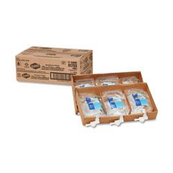 Clorox Hand Sanitizer Push Button Dispenser Refill, 1 L Bag, 6/Carton