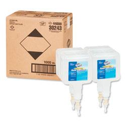 Clorox Hand Sanitizer Touchless Dispenser Refill, 1 Liter, 4/Carton