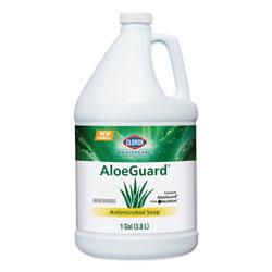 Clorox AloeGuard® Antimicrobial Soap, Aloe Scent, 1 gal Bottle, 4/Carton