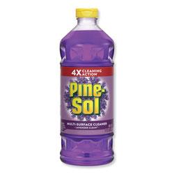 Pine Sol Multi-Surface Cleaner, Lavender, 48oz Bottle, 8/Carton