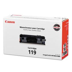 Canon 3479B001 (CRG-119) Toner, 2100 Page-Yield, Black