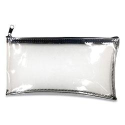 Controltek Multipurpose Zipper Bags, 11 x 6, Clear