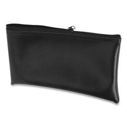 Controltek Multipurpose Zipper Bags, 11 x 6, Vinyl, Black