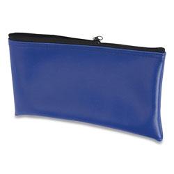 Controltek Multipurpose Zipper Bags, 11 x 6, Vinyl, Blue