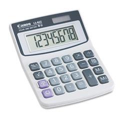 Canon LS82Z Minidesk Calculator, 8-Digit LCD