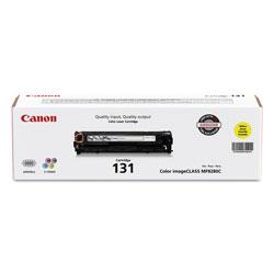 Canon 6269B001 (CRG-131) Toner, 1500 Page-Yield, Yellow