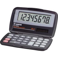 Canon LS555H Handheld Calculator, Foldable Case, Solar/Battery, 8 Digit Display