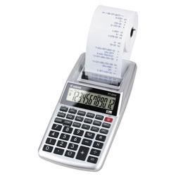 Canon P1-DHV 12-Digit Palm Printing Calculator, Purple Print, 2 Lines/Sec
