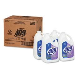 Formula 409 Glass & Surface Cleaner, Refill, 128 oz, 4/Carton