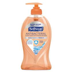 Softsoap Antibacterial Hand Soap, Crisp Clean, 11 1/4 oz Pump Bottle