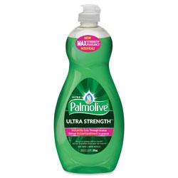 Colgate Palmolive Dishwashing Liquid, Ultra Strength, Original Scent, 20 oz Bottle, 9/Ctn