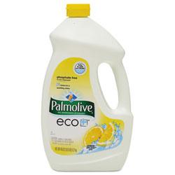 Colgate Palmolive Automatic Dishwasher Gel, Lemon, 45 oz Bottle, 9/Carton