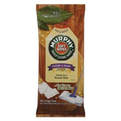 Murphy® Soft Wipe, Cloth, 8 x 11, White, 18/Pack