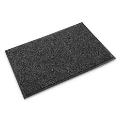 Ludlow Composites Cross-Over Indoor/Outdoor Wiper/Scraper Mat, Olefin/Poly, 48 x 72, Gray