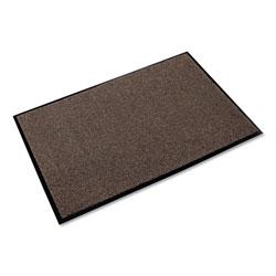 Ludlow Composites Rely-On Olefin Indoor Wiper Mat, 36 x 60, Walnut
