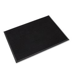 Ludlow Composites Mat-A-Dor Entrance/Antifatigue Mat, Rubber, 36 x 72, Black