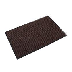 Ludlow Composites Needle Rib™ Vinyl & Polyproylene Scraper Mat, 3' x 5', Brown