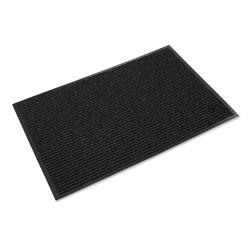 Ludlow Composites Needle Rib Wipe and Scrape Mat, Polypropylene, 36 x 60, Charcoal