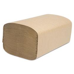 Cascades Select Folded Towel, Singlefold, Natural, 9 1/8 x 10 1/4, 250/Pack, 4000/Carton