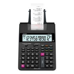 Casio HR170R Printing Calculator, 12-Digit, LCD