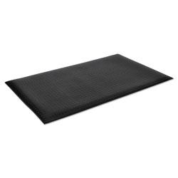 Crown Wear-Bond Comfort-King Anti-Fatigue Mat, Diamond Emboss, 36 x 60, Black
