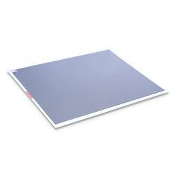 Crown Walk-N-Clean Dirt Grabber Mat with Starter Pad, 31.5 x 25.5, Gray
