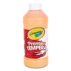 Crayola Premier Tempera Paint, Orange-Yellow, 16 oz