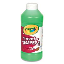 Crayola Premier Tempera Paint, Glowing Green, 16 oz