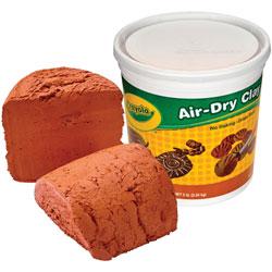 Crayola Air Dry Clay, 5lb, Terra Cotta
