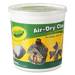 Crayola Air-Dry Clay, White, 5 lbs