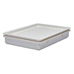 Cambro Pizza Dough Box Cover 18 in X 26 in White