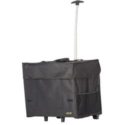 dbest Wide Load Smart Cart, 2 in x 19 in x 22 in, Black