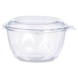 Dart Tamper-Resistant, Tamper-Evident Bowls with Dome Lid, 16 oz, Clear, 240/Carton