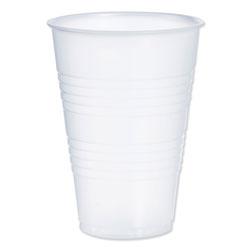 Dart Conex Galaxy Polystyrene Plastic Cold Cups, 14oz, 50 Sleeve. 20 Bags/Carton