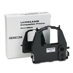 Genicom LA30RKA Compatible Ribbon, Black